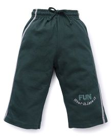 Cucu Fun Three Fourth Pants - Dark Green
