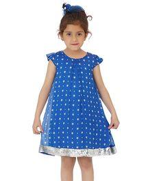 Dress My Angel Party Star Glitter Dress - Blue