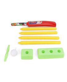 Ankit Toys Cricket Set Junior - Green Red Yellow
