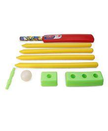 Ankit Toys Cricket Set Senior  - Green Red Yellow