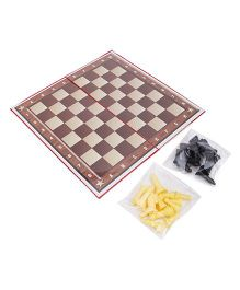 Ankit Toys Eco Chess Medium - Brown