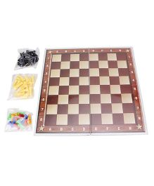Ankit Toys 2 In 1 Chess & Ludo Board Game - Multicolor