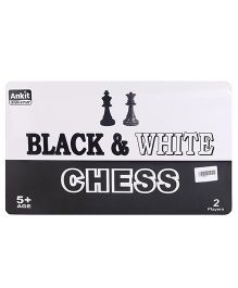 Ankit Toys Black & White Chess - Black White