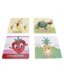 Ankit Toys Fix n Learn Fruits Puzzle - Multicolor