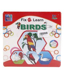 Ankit Toys Fix n Learn Birds Puzzle - Multicolor