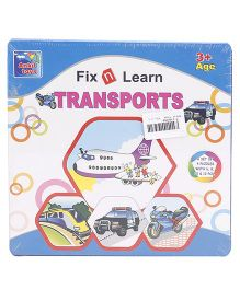 Ankit Toys Fix n Learn Transports Puzzle - Multicolor