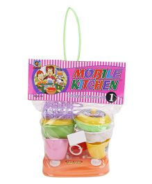 Ankit Toys Mobile Kitchen No 1 - Multicolor