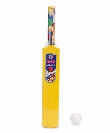 Ankit Toys Cricket Bat and Ball Set - Yellow