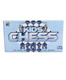 Ankit Toys Kids Chess - Black And White