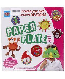 Ankit Toys Paper Plate Art - Multicolor