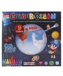 Ankit Toys Colour & Clean Window Pack - Multi Color
