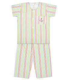 Kid1 Little Sailor Night Suit - Pink