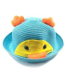 Miss Diva Soft Penguin Style Cap - Turquoise
