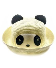 Miss Diva Soft Panda Cap - Off White
