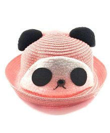 Miss Diva Soft Panda Cap - Peach