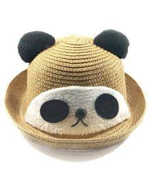 Miss Diva Soft Panda Cap - Brown