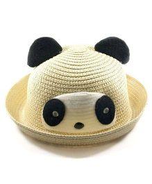 Miss Diva Soft Panda Cap - Light Brown