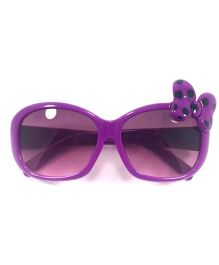 Miss Diva Cute Butterfly Sunglasses - Purple