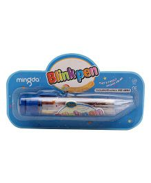 Playmate 8 in 1 Glitter Gel Pen - Blue
