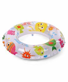 Intex Fish Print Swim Ring - Multicolor