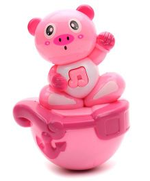 Kumar Toys Roly Poly Kitty Face Puzzle Tumbler - Pink