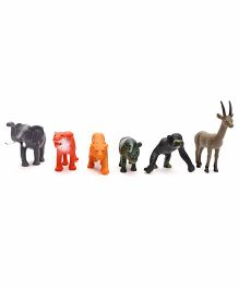 Playmate Wild Animals Set Of 6 - Multicolor