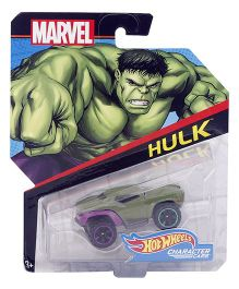 Hot Wheels Marvel Daredevil Car - Green And Purple