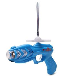Playmate Projection Music Strike Electric Gun - Blue
