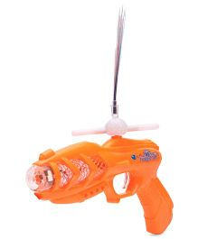Playmate Projection Music Strike Electric Gun - Orange
