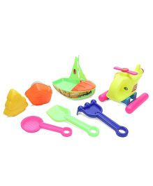 Negi Helicopter Beach Set - Yellow & Multi Color