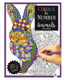 Colour by Number Animals And More - English