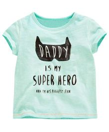 Cherubbaby Super Hero Printed Tee - Green