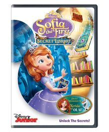 Sofia The First The Secret Library DVD - English