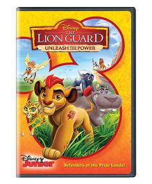 The Lion Guard Unleash The Power DVD - English