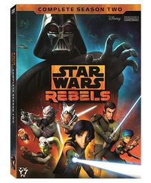 Star Wars Rebels The Complete Second Season DVD - English
