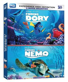 Finding Nemo & Finding Dory 3D BD - DVD