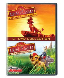 The Lion Guard Set DVD - English