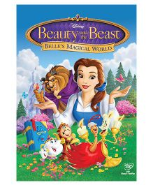 Beauty And The Beast Belle's Magical World DVD - English