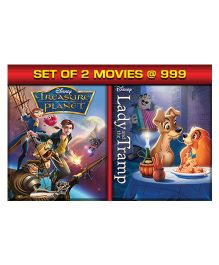 Treasure Planet Lady & The Tramp DVD - English