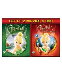 TinkerBell 1 & TinkerBell 2 The Lost Treasure Blue Ray DVD - English