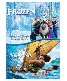 Moana & Frozen DVD - English