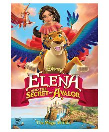 Elena And The Secret of Avalor DVD - English