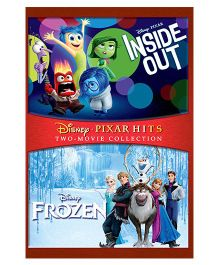 Inside Out & Frozen DVD - English