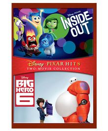 Inside Out & Big Hero 6 DVD - English