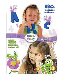 Brainy Baby ABC & 123 DVD - English