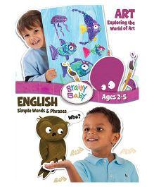Brainy Baby Art & English DVD - English