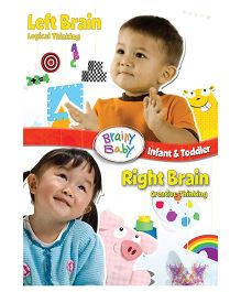 Brainy Baby Left Brain & Right Brain DVD - English