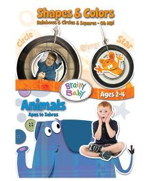 Brainy Baby Space And Colors & Animals DVD - English