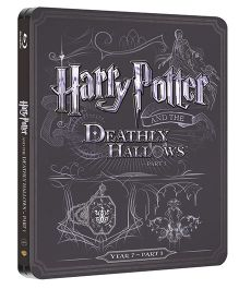 Harry Potter And The Deathly Hallows Part 1 Steelbook Blue Ray Disk - English