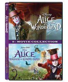 Disney Alice In Wonderland & Alice Through The Looking Glass DVD - English